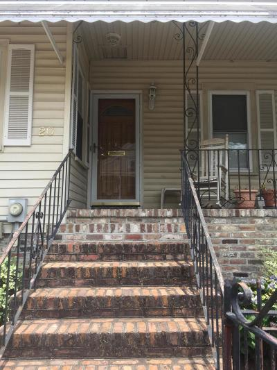 Charleston County Single Family Home For Sale: 20 N Tracy Street