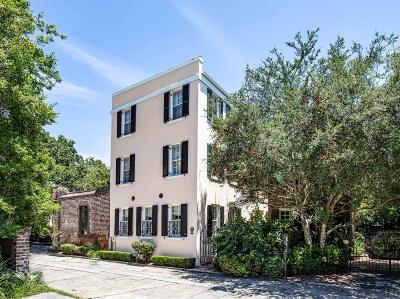 Charleston SC Single Family Home For Sale: $2,400,000