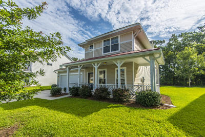 Moncks Corner Single Family Home For Sale: 110 Cypress Plantation Road