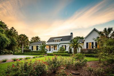 Charleston County Single Family Home For Sale: 3408 Bohicket Road