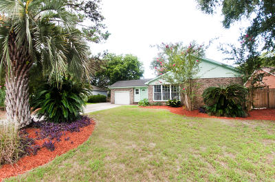 Mount Pleasant Single Family Home For Sale: 1125 Lee Shore Lane
