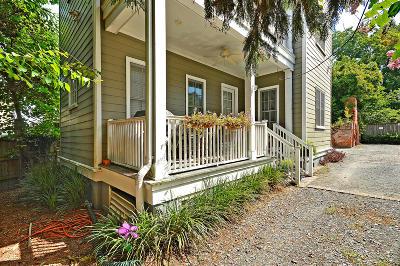 Charleston Single Family Home For Sale: 32 1/2 Mary Street #B