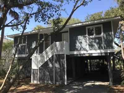 Isle Of Palms Single Family Home For Sale: 18 Twin Oaks Lane