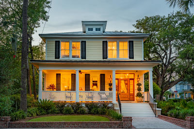 Charleston Single Family Home For Sale: 542 Huger Street
