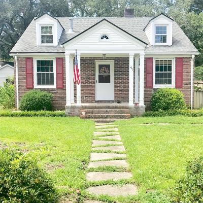 Charleston Single Family Home For Sale: 47 Yeadon Avenue