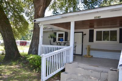 Single Family Home For Sale: 5240 Cherry Hill Road