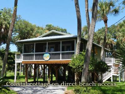 Edisto Island Single Family Home Contingent: 1111 Nancy Street