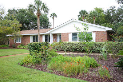 Isle Of Palms Single Family Home Contingent: 3906 Waterway Boulevard