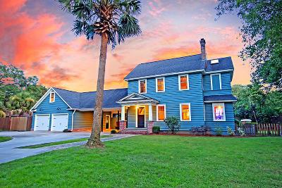 Charleston Single Family Home For Sale: 2059 Lakeshore Drive