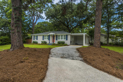 Charleston Single Family Home Contingent: 227 Stinson Drive