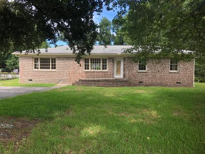 Single Family Home For Sale: 1236 Folly Road