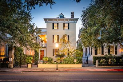 Charleston Single Family Home For Sale: 39 Meeting Street
