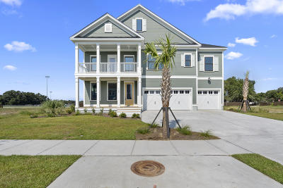 James Island Single Family Home For Sale: 1166 Elliotts Cut Drive
