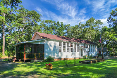 Wadmalaw Island Single Family Home For Sale: 4680 Bears Bluff Road