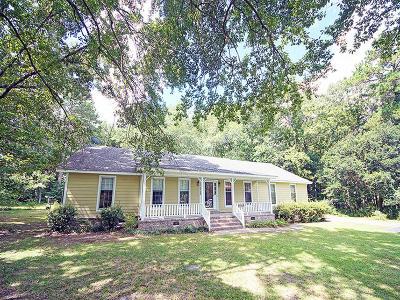Goose Creek Single Family Home Contingent: 156 Lazy Lane