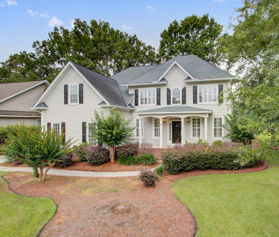 North Charleston Single Family Home For Sale: 8859 E Fairway Woods Circle