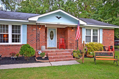 Ladson Single Family Home For Sale: 205 Columbia Drive
