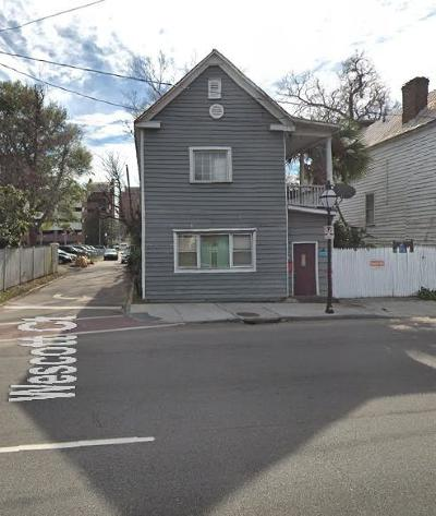 Charleston Single Family Home For Sale: 197 Spring Street