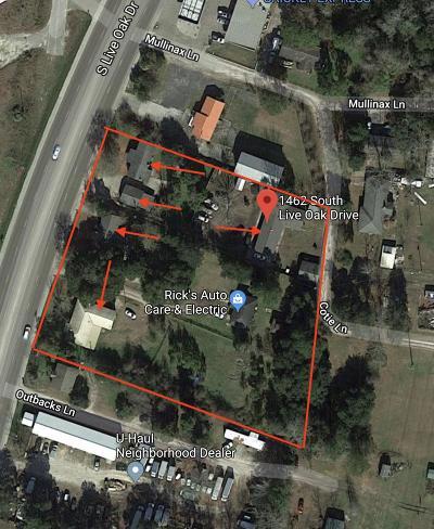 Multi Family Home For Sale: 1462 S Live Oak Drive