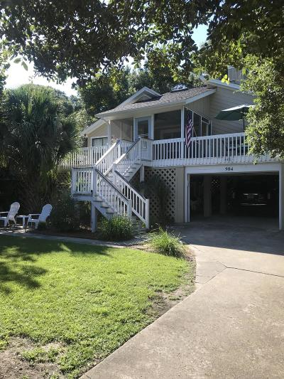 Isle Of Palms Single Family Home For Sale: 904 Palm Boulevard