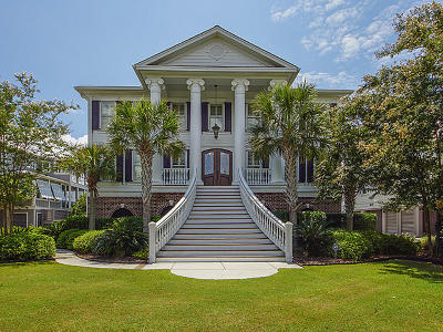 Mount Pleasant Single Family Home For Sale: 1652 Rivertowne Country Club Drive