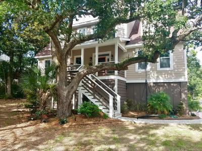 Folly Beach Single Family Home Contingent: 412 W Hudson Avenue