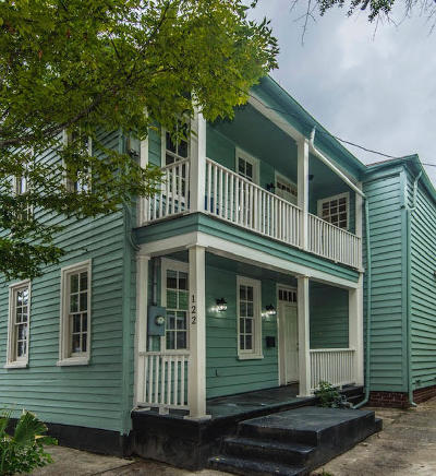Charleston Single Family Home For Sale: 122 Coming Street