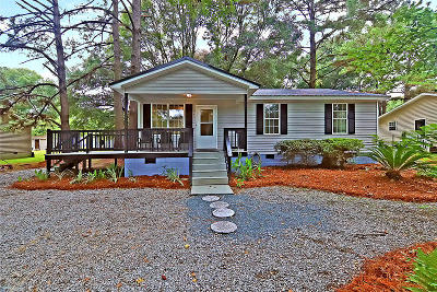 Single Family Home For Sale: 3251 Esau Jenkins Road