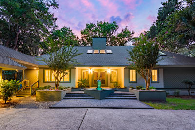 Seabrook Island SC Single Family Home For Sale: $815,000