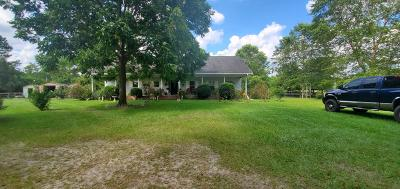 Walterboro Single Family Home For Sale: 8954 Bells Highway