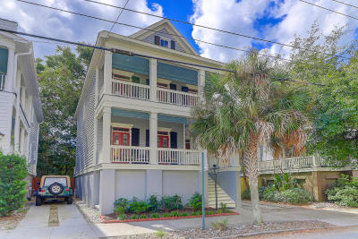 Charleston Single Family Home For Sale: 67 Vanderhorst Street #B