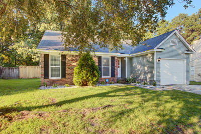 Goose Creek Single Family Home Contingent: 166 Commons Way