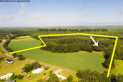 Ridgeville Single Family Home For Sale: 998 Ridge Road