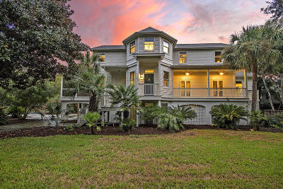 Sullivans Island SC Single Family Home For Sale: $1,995,000