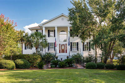 North Charleston Single Family Home For Sale: 1009 Bakers Landing Drive