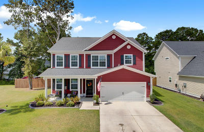 North Charleston Single Family Home For Sale: 8652 Sentry Circle