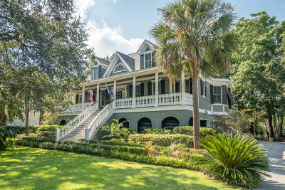 Mount Pleasant Single Family Home For Sale: 245 River Oak Drive
