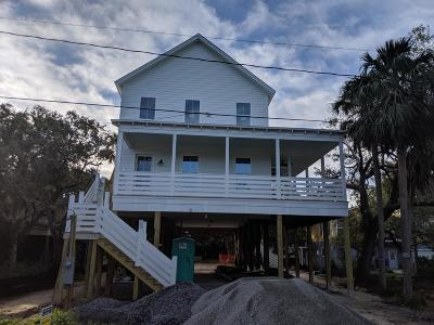 Folly Beach Single Family Home For Sale: 1017 E Cooper Avenue