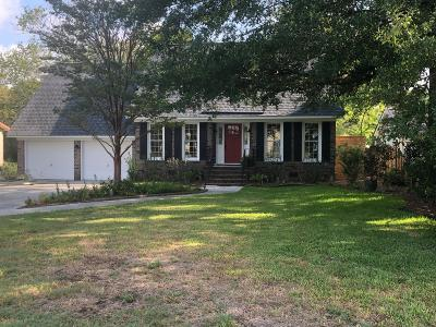 Charleston Single Family Home For Sale: 1910 Capri Drive
