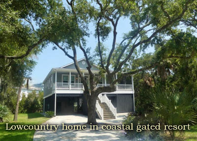 Edisto Island SC Single Family Home For Sale: $424,900