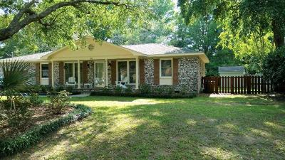 Charleston Single Family Home For Sale: 1081 Woodside Drive
