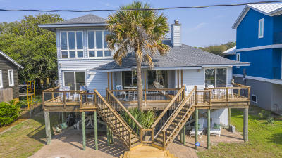 Folly Beach Single Family Home For Sale: 1214 E Arctic Ave Avenue