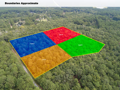 Awendaw Residential Lots & Land For Sale: Lots 2-5 White Road