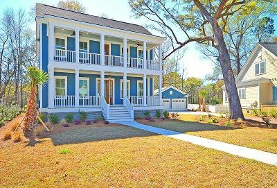 James Island Single Family Home Contingent: 1411 Rivers Cotton Road