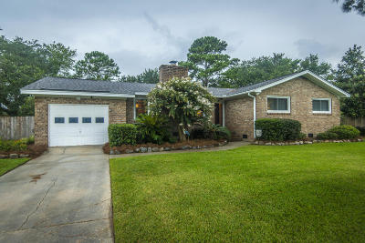 Charleston Single Family Home For Sale: 1276 Cornwallis Drive