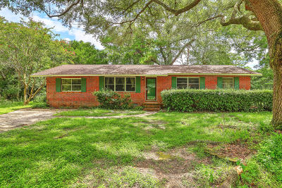 Charleston Single Family Home For Sale: 4 Murray Hill Drive