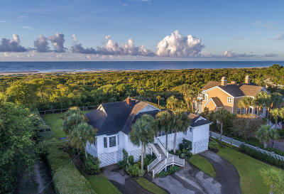 Sullivans Island SC Single Family Home For Sale: $3,350,000