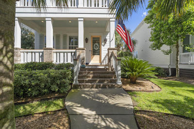 Charleston Single Family Home For Sale: 1542 Mitchell Wharf Street