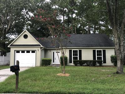 North Charleston Single Family Home Contingent: 4192 Mill Creek Drive