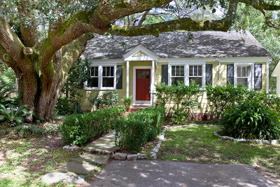 Charleston Single Family Home For Sale: 2122 Welch Avenue